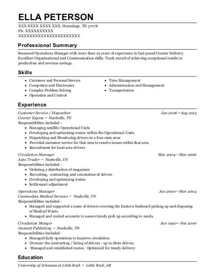 Best Circulation Manager Resumes | ResumeHelp