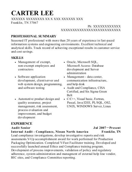 best audit senior resumes  resumehelp