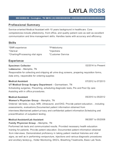 Layla Ross  Ultrasound Resume