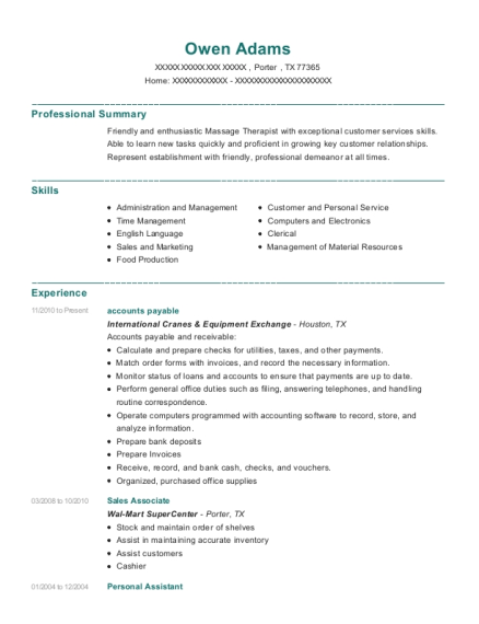 Best Personal Assistant Resumes in Texas | ResumeHelp