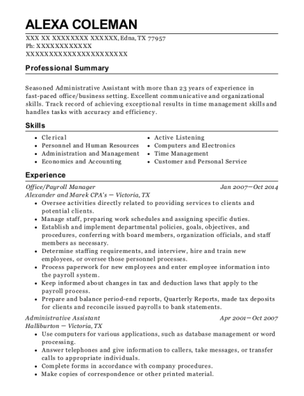 people also search for customize resume view resume officepayroll manager