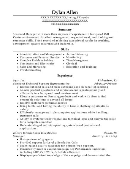 best applecare technical support advisor resumes resumehelp