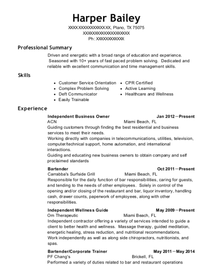 View Resume. Independent Business Owner  Business Owner Resume
