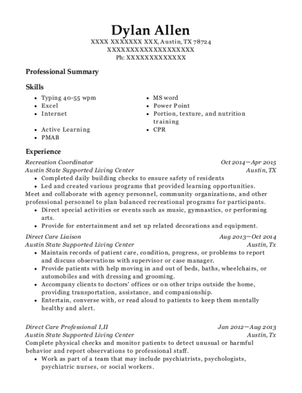 Amazing Care Home Manager Resume Gallery - Best Resume Examples and ...