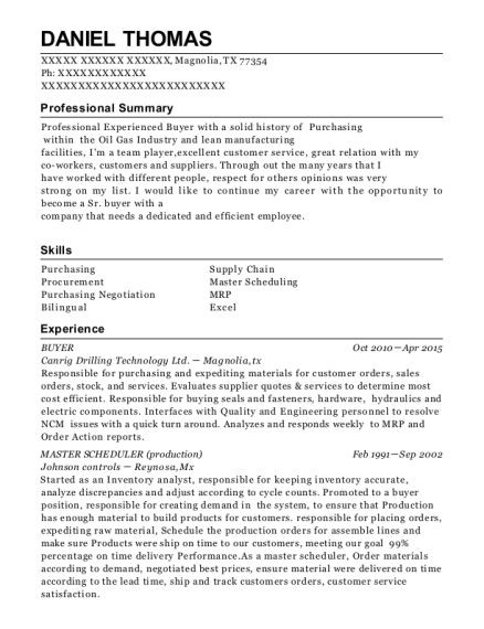 Ge Aviation Master Scheduler Resume Sample Bevery