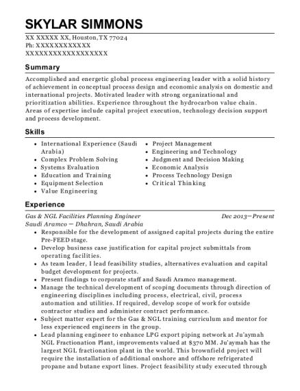 Best Senior Chemical Engineer Resumes | ResumeHelp