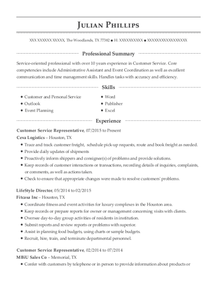 Best Event Coordinator/receptionist Resumes | ResumeHelp