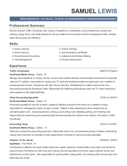 Stunning Accounting Temp Resume Pictures - Best Resume Examples by ...
