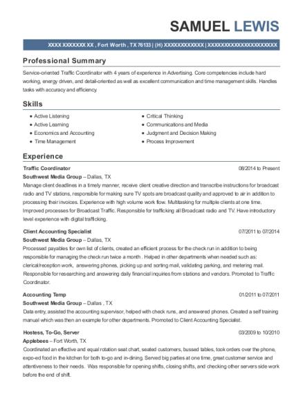 Best Accounting Temp Resumes | ResumeHelp