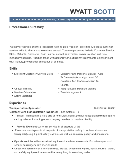 Best Courier / Customer Service Medical Records Specialist Resumes ...