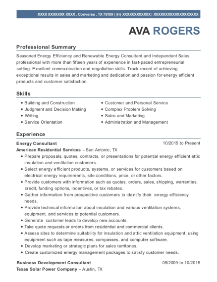 Attractive Energy And Power Resume Image Collection - Resume Ideas ...
