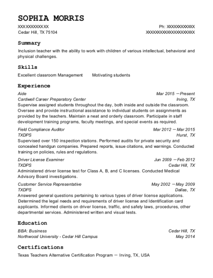 Best Field Compliance Auditor Resumes | ResumeHelp