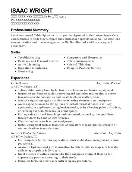Best Clean Room Technician Resumes | ResumeHelp