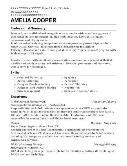 best field sales engineer resumes resumehelp