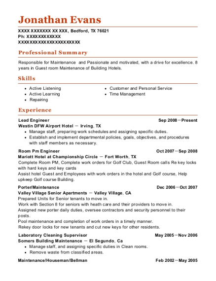 Best Laboratory Cleaning Supervisor Resumes