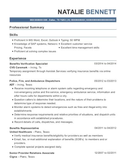 natalie bennett - Mail Order Pharmacist Sample Resume
