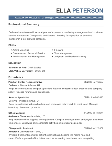 help with resume wording