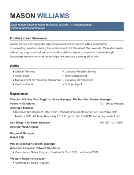 Best Small Business Account Manager Resumes | ResumeHelp