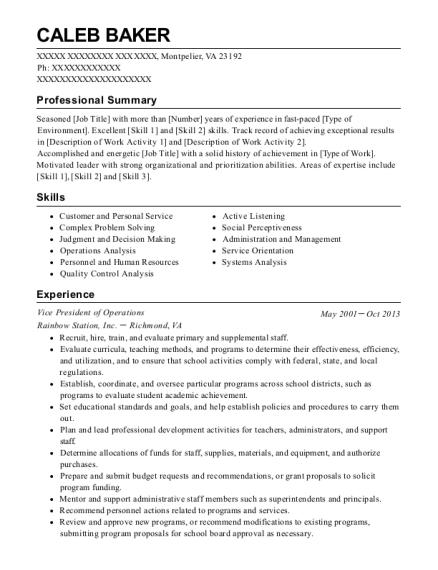 Best Program Administrator Resumes | ResumeHelp