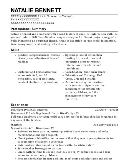 Best Childcare Nursery Assistant Resumes Resumehelp