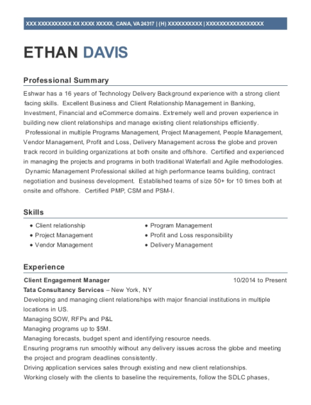 client engagement manager