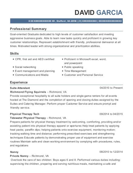 Best Suite Attendant Resumes | ResumeHelp