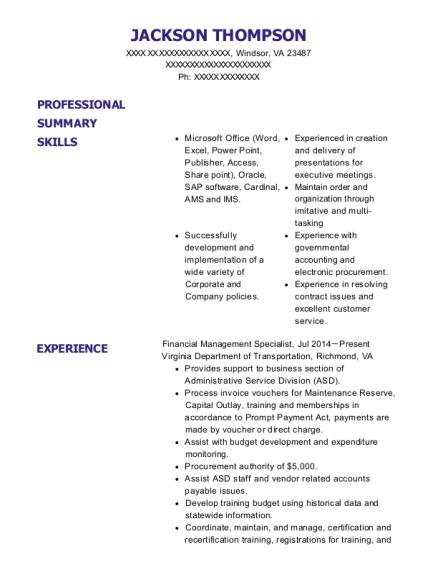 Best Fiscal Technician Resumes | ResumeHelp