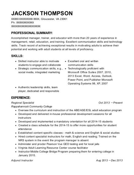 best ged resumes resumehelp