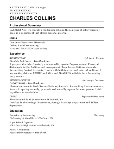 Australian Government Solicitor Finance Officer Resume Sample ...