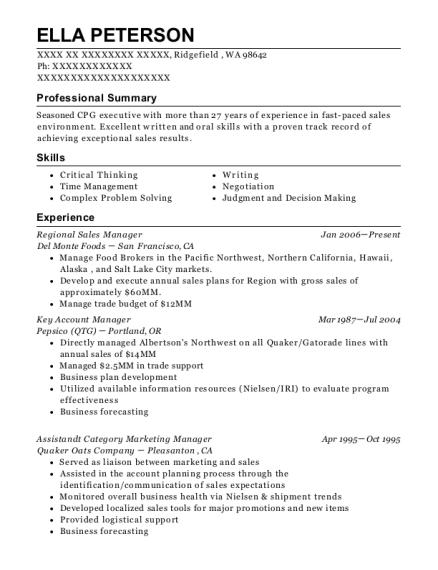 Best Key Account Manager Resumes | ResumeHelp