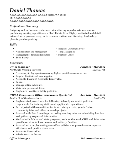 best hipaa compliance officer resumes resumehelp
