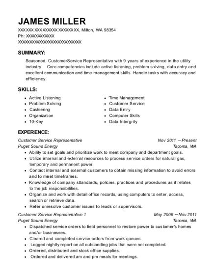 Best Customer Service Representative 1 Resumes   ResumeHelp