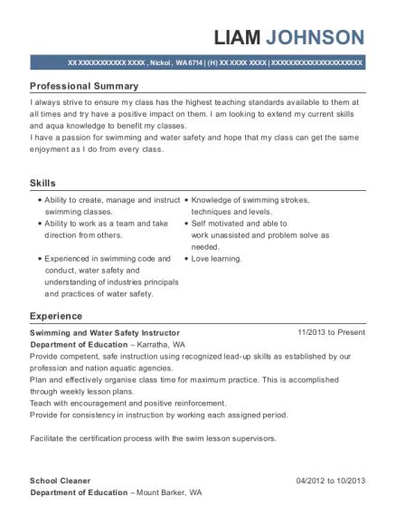 Best School Cleaner Resumes | ResumeHelp