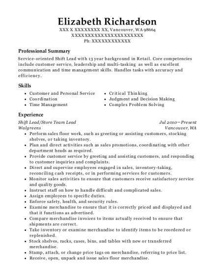 salad bar resume sample