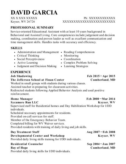 best job shadowing resumes resumehelp