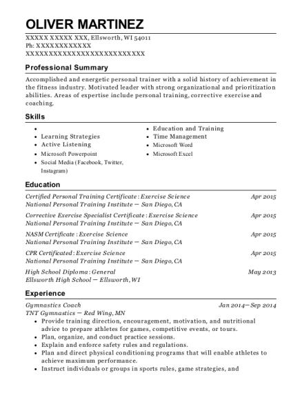 zenith volleyball academy volleyball coach resume sample