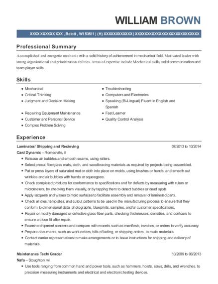 best veneer grader resumes resumehelp