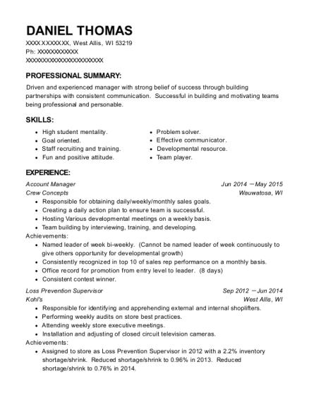 Best Target Protection Specialist Resumes | ResumeHelp
