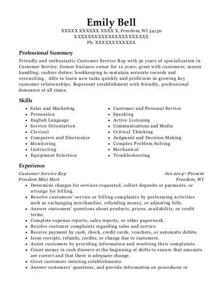 Emily Bell  Pharmacy Manager Resume