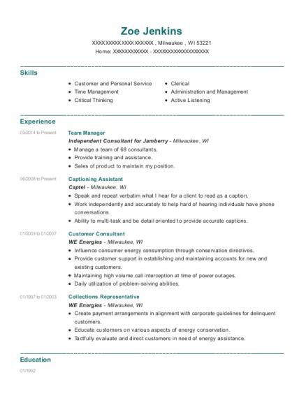Best Captioning Assistant Resumes | ResumeHelp